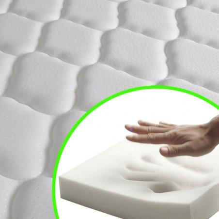 Colchón viscoelástico 200 x 90 x 17 cm