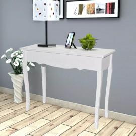 Mesa consola tocador blanco