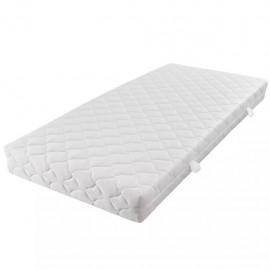Colchón con funda lavable de 200 x 90 x 17 cm