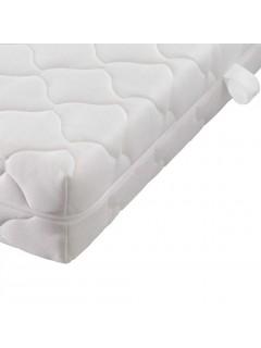 Colchón con funda lavable de 200 x 160 x 17 cm