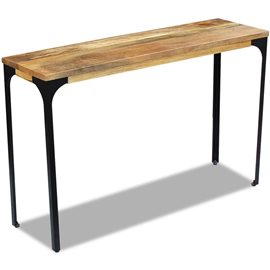Mesa consola madera de mango 120x35x76 cm