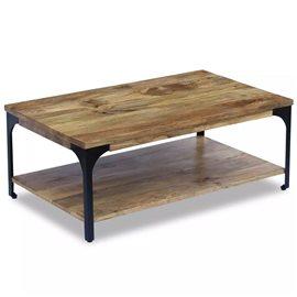 Mesa de centro madera de mango 100x60x38 cm