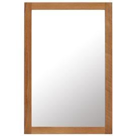 Espejo de madera maciza de roble 60x90 cm