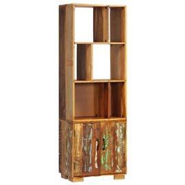 Estantería 60x35x180 cm madera maciza reciclada