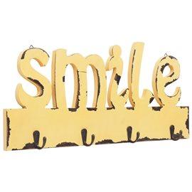 Perchero de pared SMILE 50x23 cm