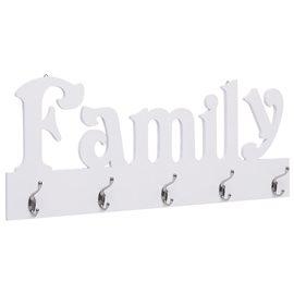 Perchero de pared FAMILY 74x29,5 cm
