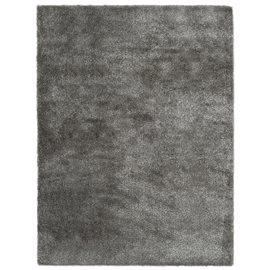 Alfombra de pelo gris antracita 140x200 cm