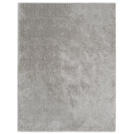 Alfombra de pelo gris 140x200 cm