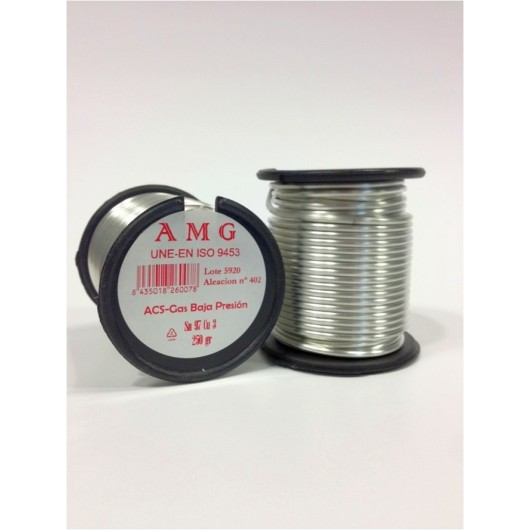 Estaño Sold Plata 250Gr 3,5% Aleacion 402 Amg