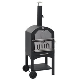 Horno de pizza exterior carbón de arcilla refractaria
