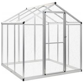 Pajarera de exterior de aluminio 183x178x194 cm