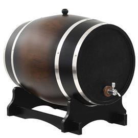 Barril de vino con grifo madera de pino maciza 35 L