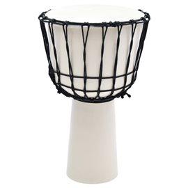 """Tambor djembe con tensores de cuerda piel de cabra 12"""""""