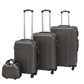 Juego de maletas rígidas cuatro unidades antracita