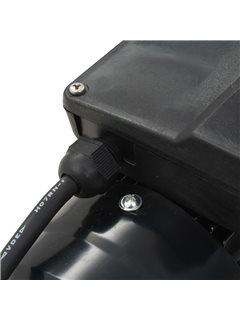 Bomba de piscina negra 0,25 HP 7500 L/h