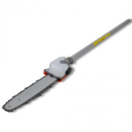 Cortasetos sierra de cadena desbrozadora y recortador de césped