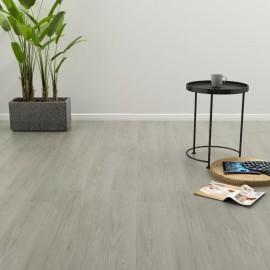 Lamas para suelo PVC autoadhesivas 4,46 m² gris