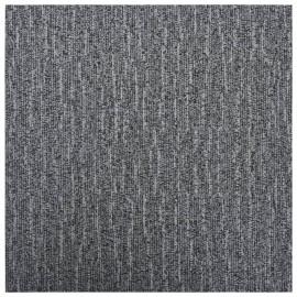 Lamas para suelo autoadhesivas PVC gris 5,11 m²
