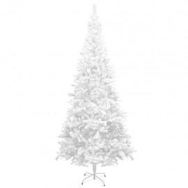 Árbol de Navidad artificial L 240 cm blanco