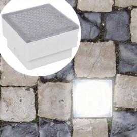 Lámparas LED empotrables 12 unidades 100x100x68 mm
