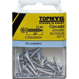 Tope Pers 40Mm Tornillo Metalico Pl Bl Nivel 2 Pz