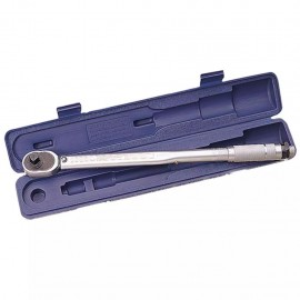 "Draper Tools Llave dinamométrica con carraca 1/2"" plateada 30357"