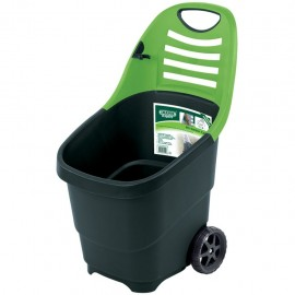 Draper Tools Carrito de jardín Expert 65 L verde 78643