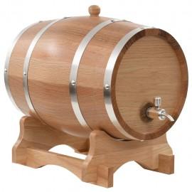 Barril de vino con grifo roble macizo 12 L