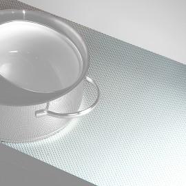 Antideslizante para cajones, 150 x 48 cm, Plástico, Gris