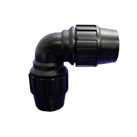Codo Riego 90º Igual 50 Mm Fit Polipropileno Hidrot
