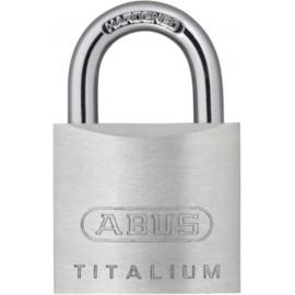 Candado Seguridad  20Mm Arco Corto Aluminio Titalium Abus