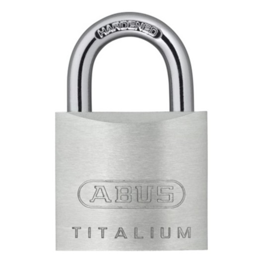 Candado Seguridad  30Mm Arco Corto Aluminio Titalium Abus