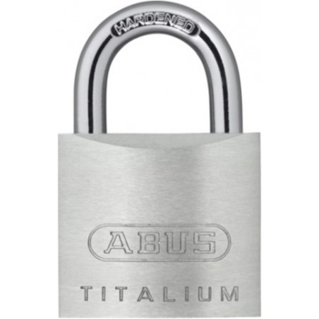 Candado Seguridad  35Mm Arco Corto Aluminio Titalium Abus