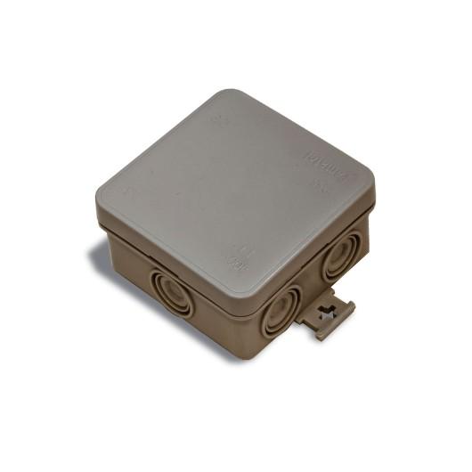 Caja Electricidad Empalme 75X75 Estanca Cuadrada Ip55 Famat