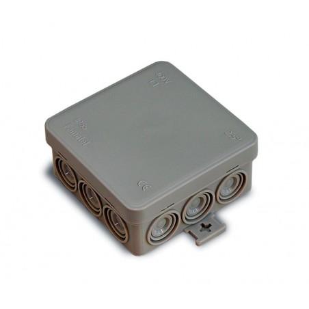 Caja Electricidad Empalme 85X85 Estanca Cuadrada Ip55 Famat