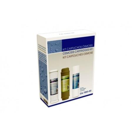 Cartucho Osmosis Sedimentos Hidrowater Nereo Kit3 Carbon Gac