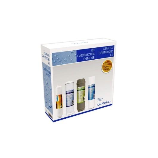 Cartucho Osmosis Sedimentos Hidrowater Nereo Kit4 Carbon Gac
