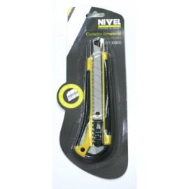 Cutter Profesional  18Mm Bimat Nivel