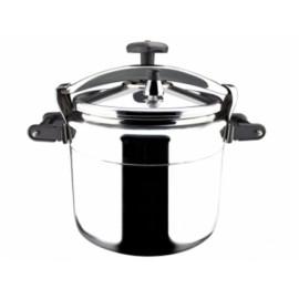 Olla Cocina Presion 15Lt Recta Aluminio Chef
