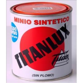 Minio Sin Plomo Sintetico 4 Lt Naranja Titan