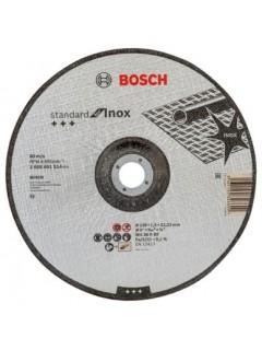 Disco Corte Inox Concavo 230X1,9X22,23Mm Standard Bosch