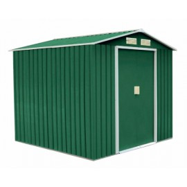 Caseta Jardin 340X319X210Cm Natuur Metal Verde Nt104066