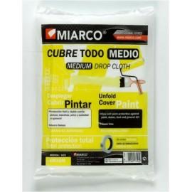 Plastico Protector 4 Mt X 05 Mt Medio Cubretodo Miarco