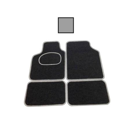 Alfombra Coche Universal Negro Soft 4 Pz Bottari