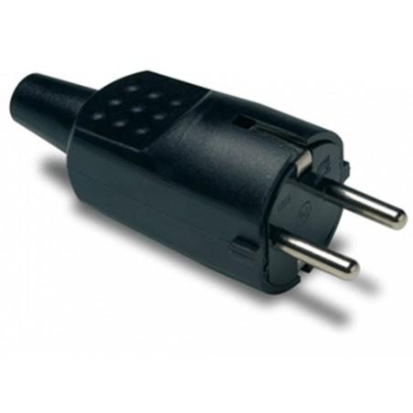 Clavija Electricidad  4,8Mm/30X97X37 16A-250V Tt Goma Termoplastica  Ne Famat
