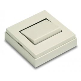 Interruptor 65X65X19 10A-250V Superficie Pvc Blanco 5001-B Famat