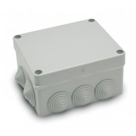 Caja Electricidad Estanca 160X135X83 Con Conos Abs Gris Famat