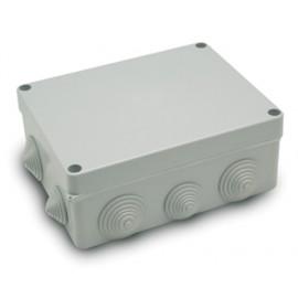 Caja Electricidad Estanca 220X170X85 Con Conos Abs Gris Famat