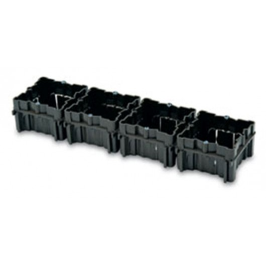 Caja Electricidad 66X66X41 Empotrar Famat Abs Ne 3102