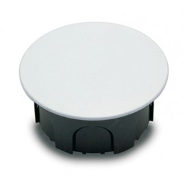 Caja Electricidad 100X100X50 Empotrar Famat Abs/Poliestireno  Negro Con Garras 3211